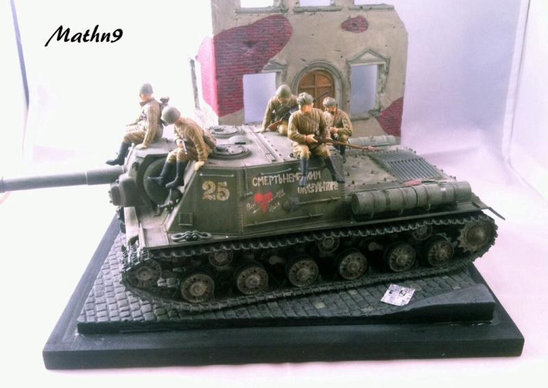 JSU 152 [Cyber Hobby 1/35] w/ Tank Riders Soviet [Dragon 1/35] - Terminé- - Page 3 Img_1711