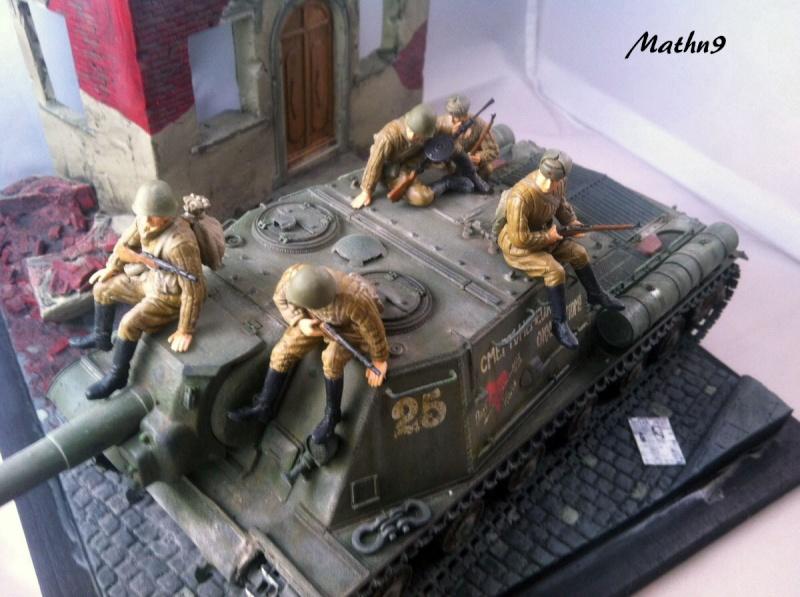 JSU 152 [Cyber Hobby 1/35] w/ Tank Riders Soviet [Dragon 1/35] - Terminé- - Page 3 Img_1712