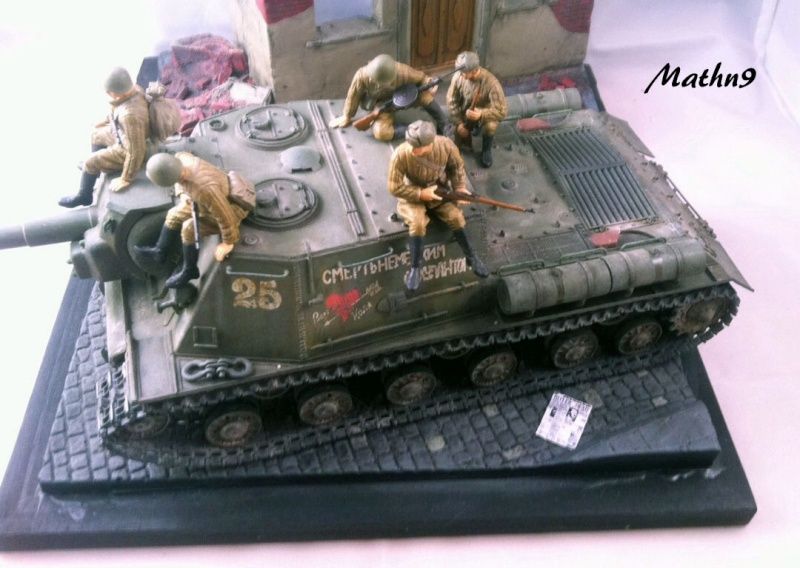 JSU 152 [Cyber Hobby 1/35] w/ Tank Riders Soviet [Dragon 1/35] - Terminé- - Page 3 Img_1713