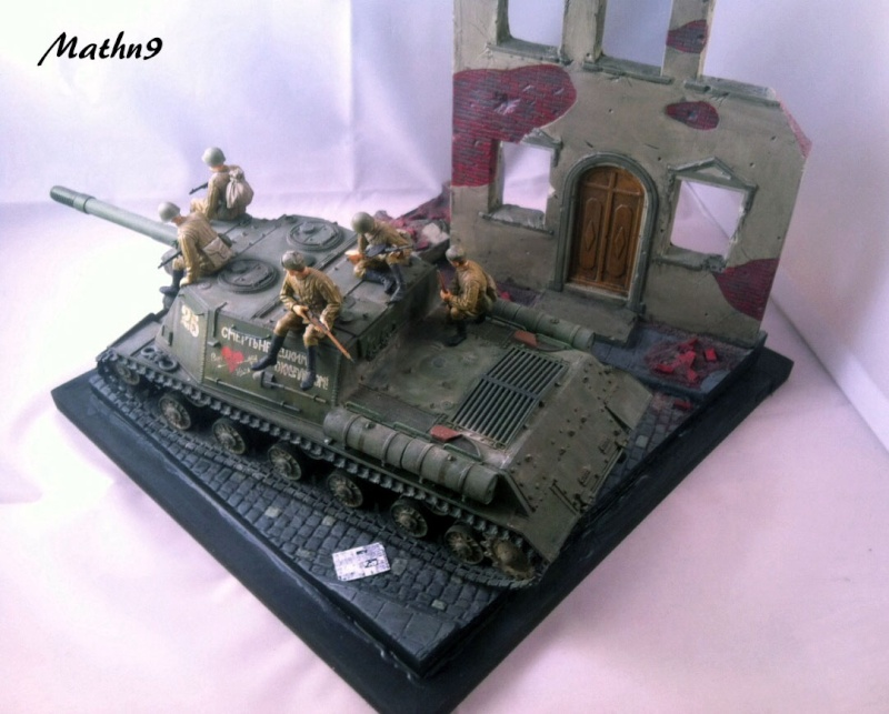 JSU 152 [Cyber Hobby 1/35] w/ Tank Riders Soviet [Dragon 1/35] - Terminé- - Page 3 Img_1714