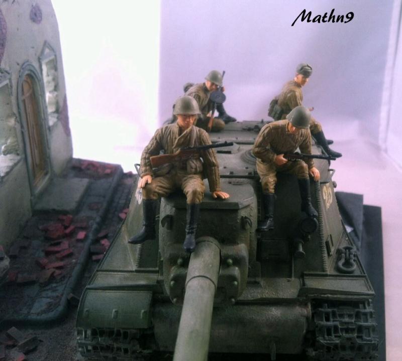 JSU 152 [Cyber Hobby 1/35] w/ Tank Riders Soviet [Dragon 1/35] - Terminé- - Page 3 Img_1715