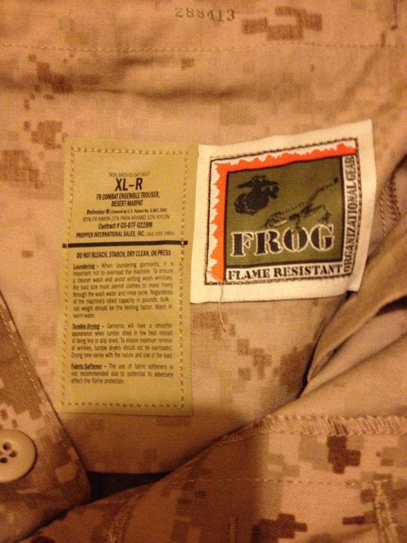 PROPPER INTERNATIONAL FROG II DESERT MARPAT 2014-012