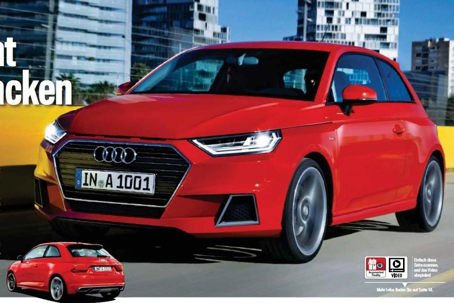 2018 - [Audi] A1 Sportback II A110
