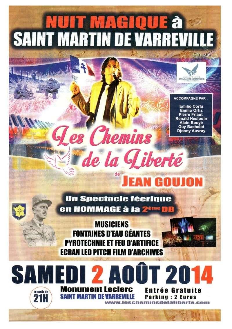 SAINT-MARTIN-DE-VARREVILLE 2-3 août 2014-70ème anniversaire 0001gf11
