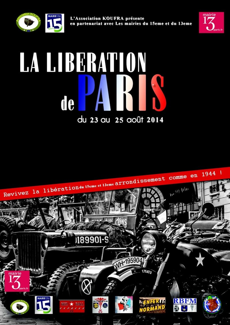PARIS 13e & 15e: 70ème anniversaire de la Libération Paris_10