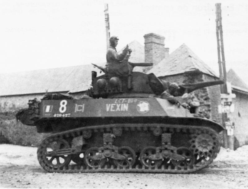 VEXIN char léger M3A3 n° 8 - 1/12° RCA / 2° peloton [420427] Vexin_10