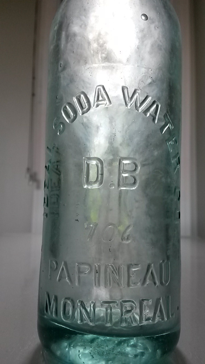 Ideal Soda Water Co., 706 Papineau Montreal Ideal210