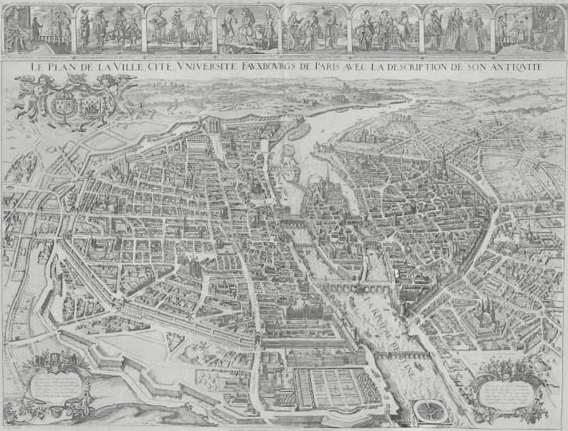 « Plusieurs fois envahi, le village fut pillé sous la Fronde » 1630_t10