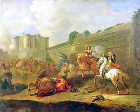 « Plusieurs fois envahi, le village fut pillé sous la Fronde » 1652_110
