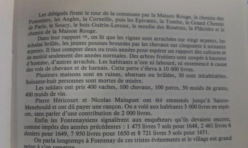 « Plusieurs fois envahi, le village fut pillé sous la Fronde » 1652_112