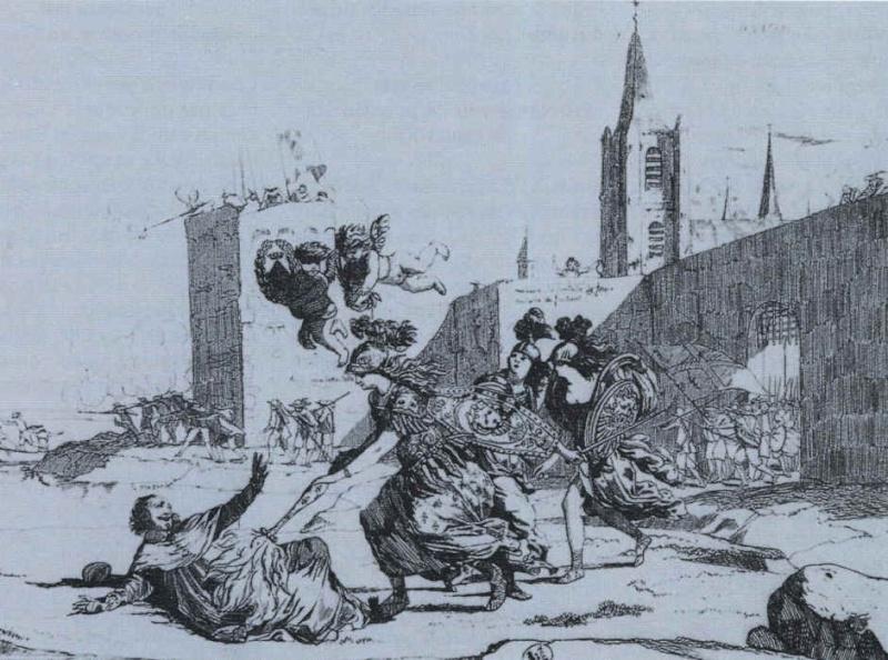 « Plusieurs fois envahi, le village fut pillé sous la Fronde » 1652_117