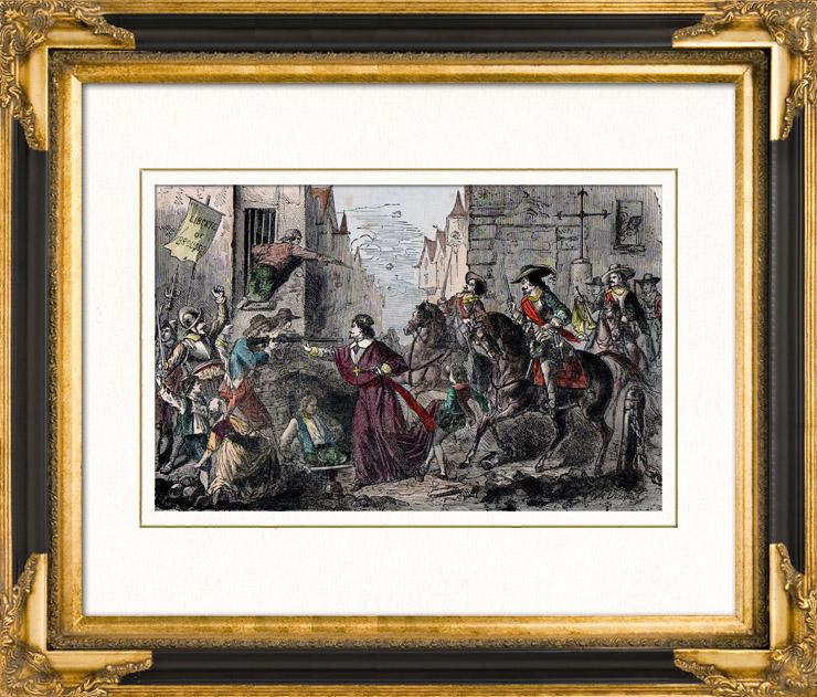 « Plusieurs fois envahi, le village fut pillé sous la Fronde » 1652_120