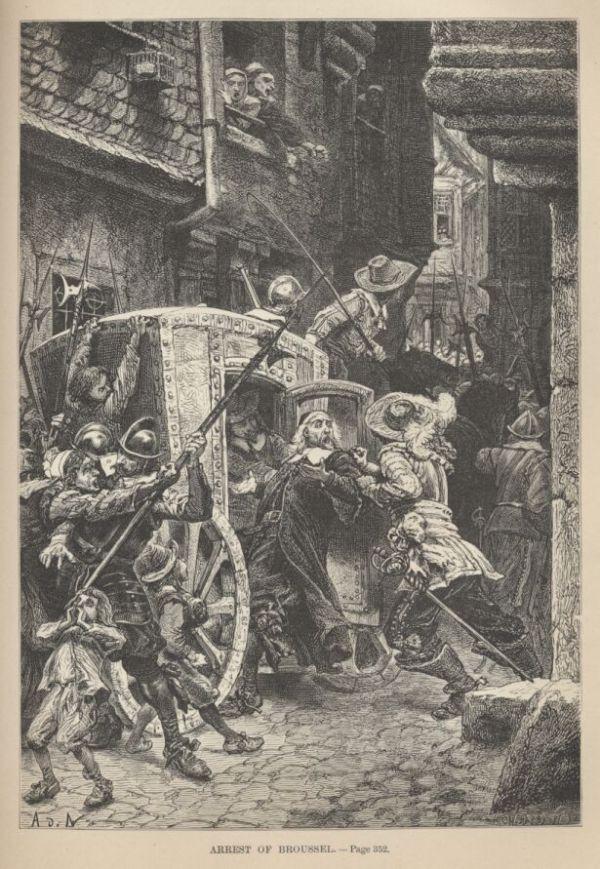 « Plusieurs fois envahi, le village fut pillé sous la Fronde » 1652_211