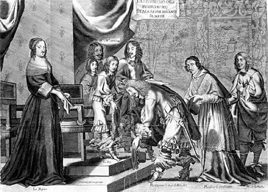 « Plusieurs fois envahi, le village fut pillé sous la Fronde » 1652_410