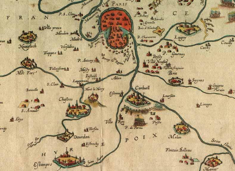 « Plusieurs fois envahi, le village fut pillé sous la Fronde » 1652_710