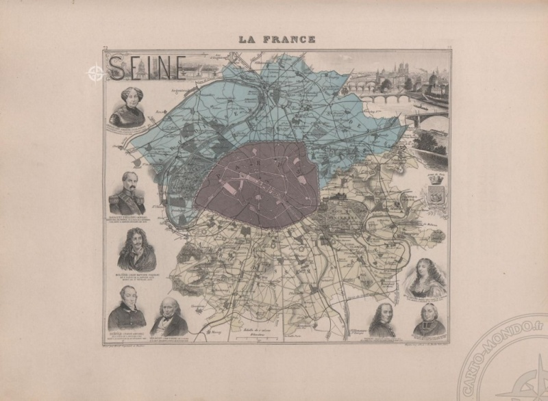 D'un grand Paris à l'autre 1841 _ 1861 _ 1964 _ 201?  Carte-10
