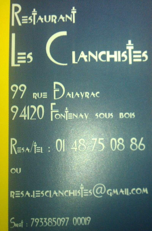 Les restaurants de Fontenay-sous-Bois Clan411