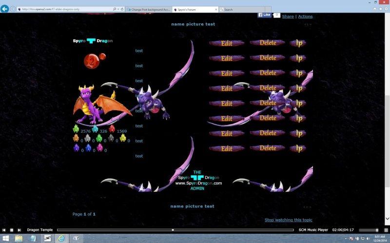 7BB92B - Change Post background According to Group Spyro_11
