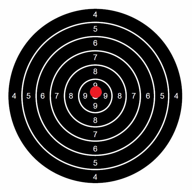 """Concours permanent bimestriel """"groupement & 100pts"""" sur cible CC A4 : Mai Juin 2014 Neuf210"""