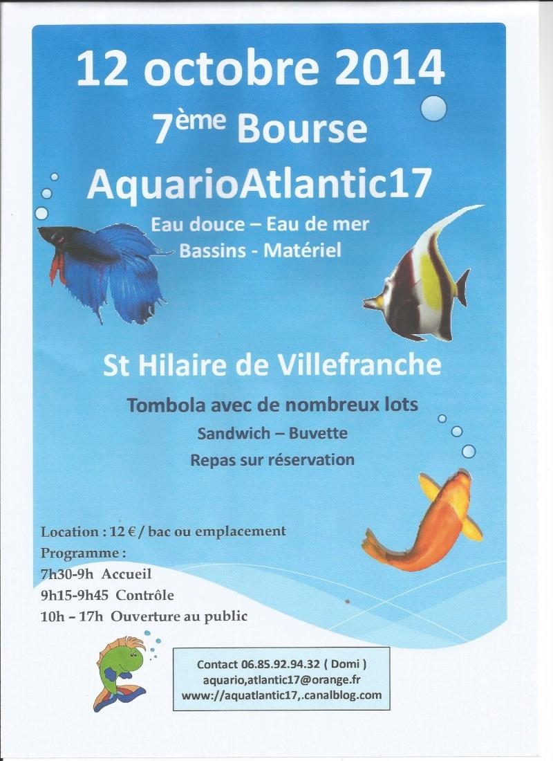 Bourse de St Hilaire 2014 Affich11