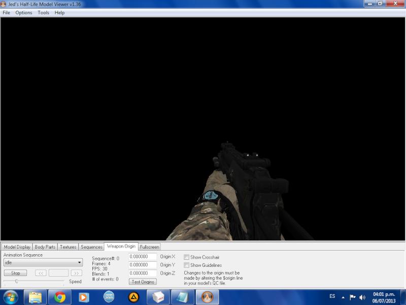 COD MW3 MP7