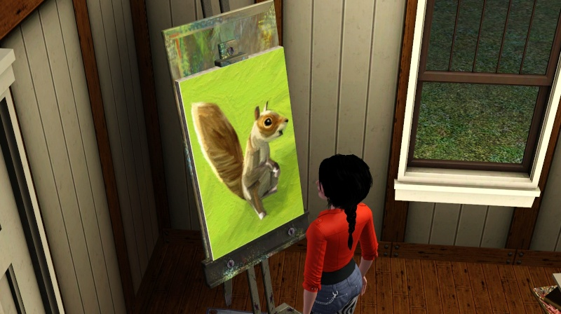 [Challenge Sims 3] Vie d'artiste - Page 2 Screen40