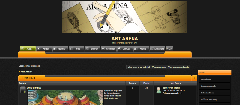 Art Arena Screen10
