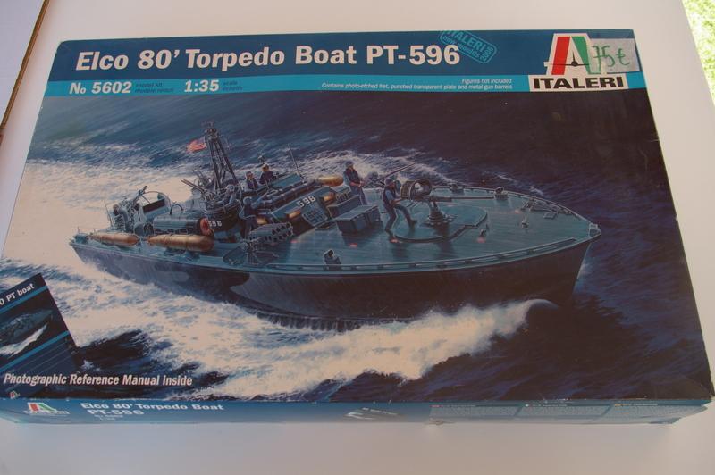 Torpedo boat PT - 596 [italeri 1/35] Imgp7110