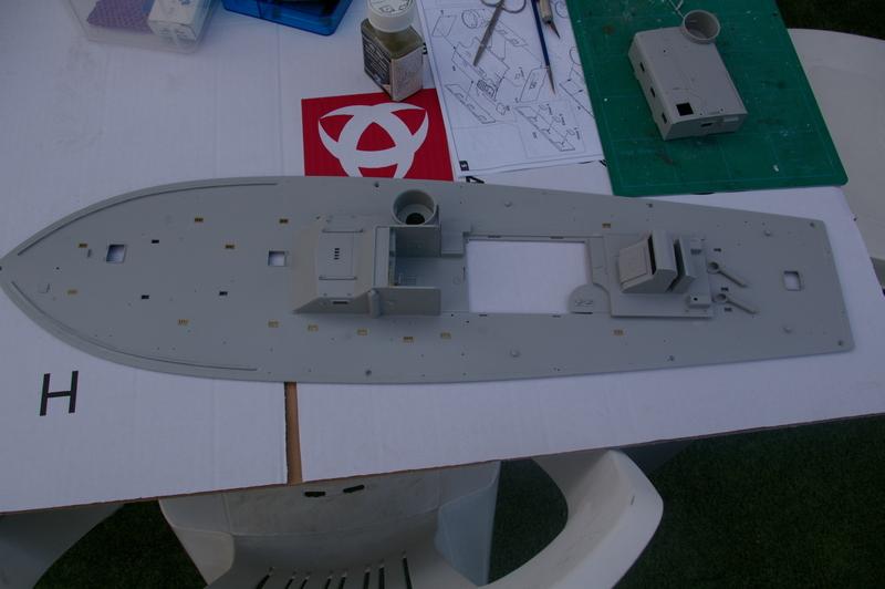 Torpedo boat PT - 596 [italeri 1/35] Imgp7114
