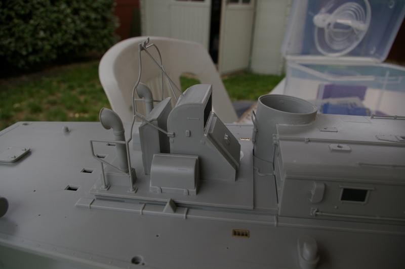 Torpedo boat PT - 596 [italeri 1/35] Imgp7122