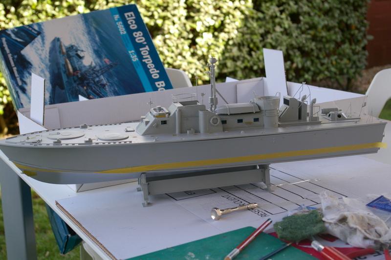 Torpedo boat PT - 596 [italeri 1/35] Imgp7130