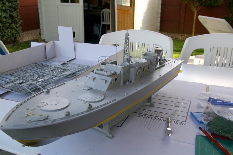Torpedo boat PT - 596 [italeri 1/35] Imgp7131