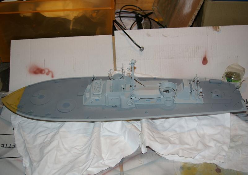 Torpedo boat PT - 596 [italeri 1/35] Imgp7134
