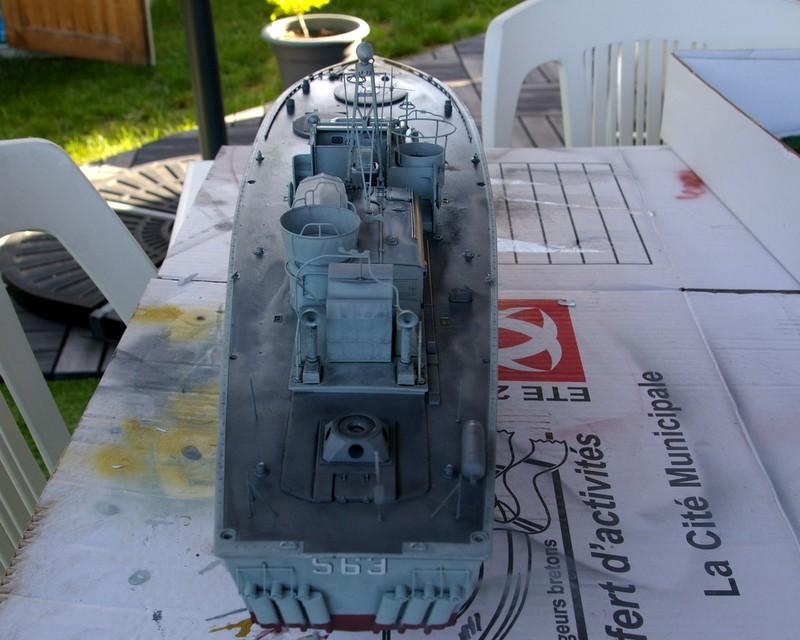 Torpedo boat PT - 596 [italeri 1/35] Imgp7210