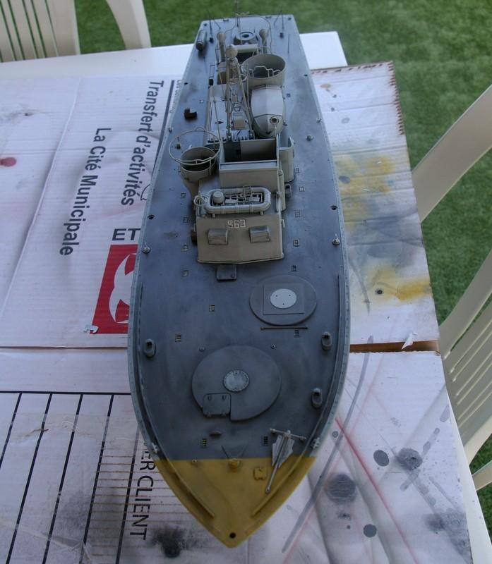 Torpedo boat PT - 596 [italeri 1/35] Imgp7211