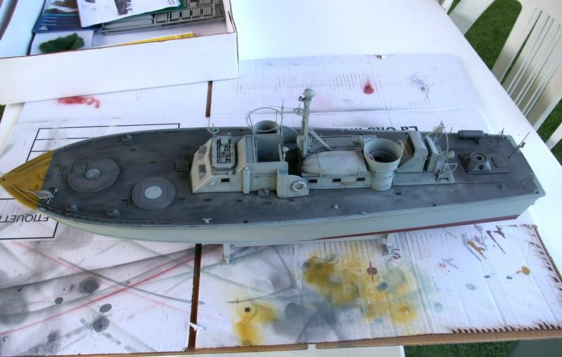 Torpedo boat PT - 596 [italeri 1/35] Imgp7212