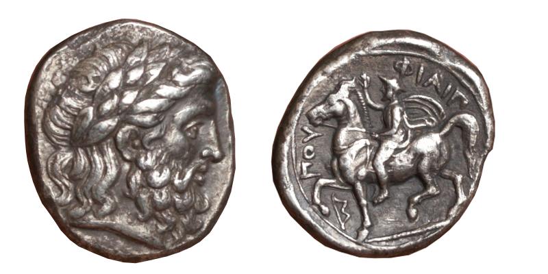 Les monnaies grecques de Brennos - Page 4 Philip10