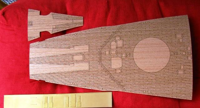 amerigo - Il mio primo cantiere navale, Amerigo Vespucci, scala 1/100 DeA - Pagina 17 Bismar10
