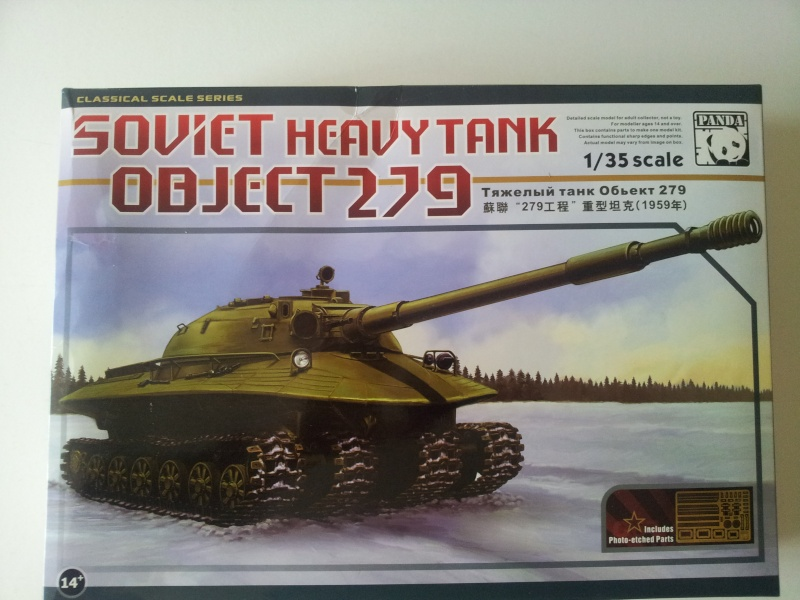 soviet heavy tank object 279   (panda 1/35) 20140633