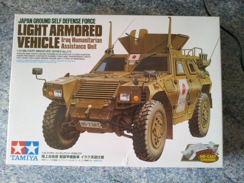 Japan Ground Self Defense Force light armored vehicule (Tamiya 1/35) 20141018