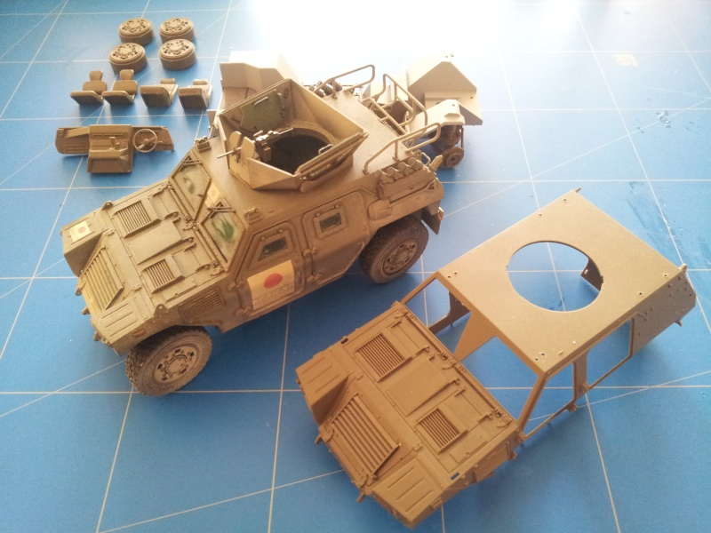 Japan Ground Self Defense Force light armored vehicule (Tamiya 1/35) 20141029