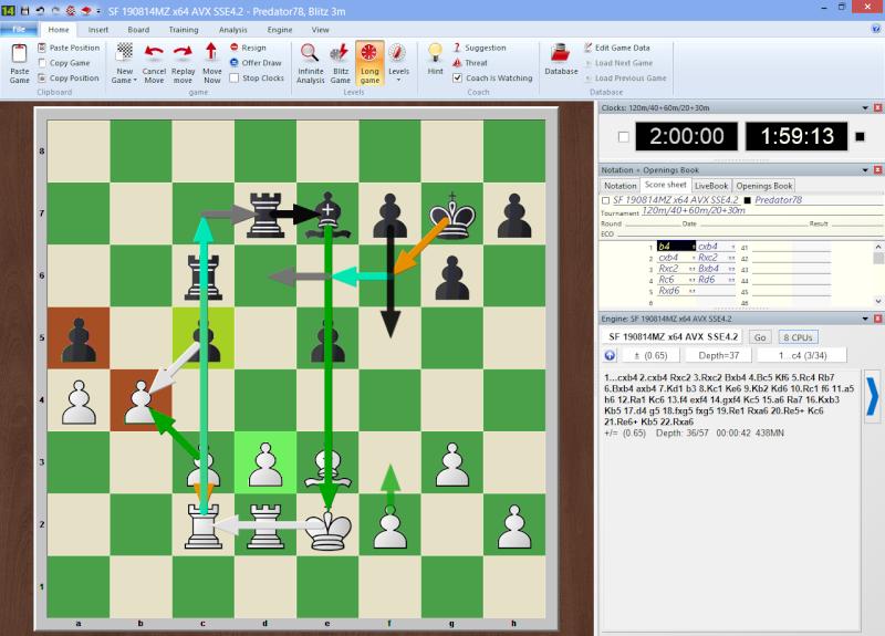 GM Hikaru Nakamura VS Chess Engine Stockfish 4081001 x64 for Haswell CPUs  2014-013