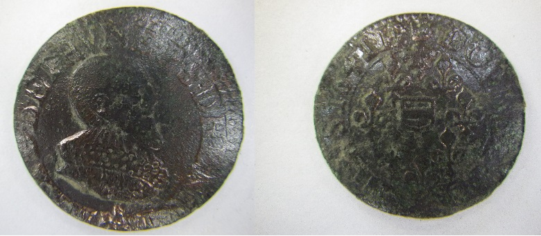 Monnaie féodale ou Royale 19mm3510