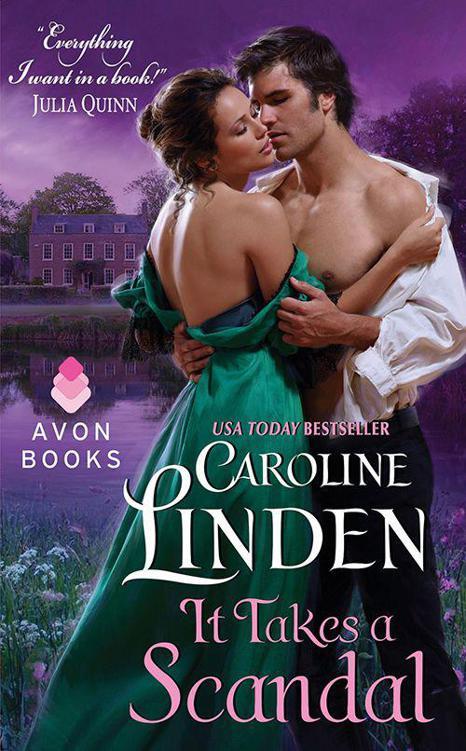 Scandales - Tome 2 : Un ténébreux voisin de Caroline Linden Cover12