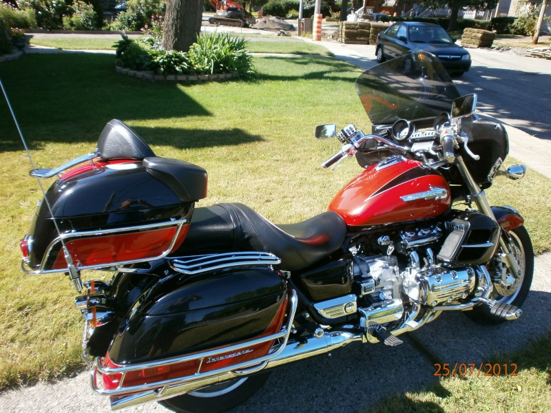 VENDU - Superbe moto originale Honda Valkyrie Interstate 311