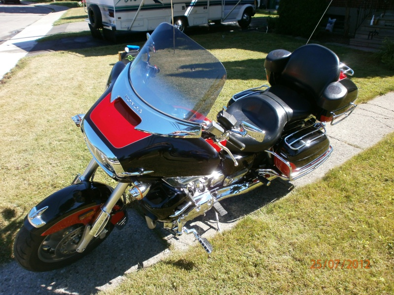 VENDU - Superbe moto originale Honda Valkyrie Interstate 510