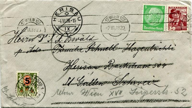 Österreich im III. Reich (Ostmark) Belege - Seite 4 Dr-51510