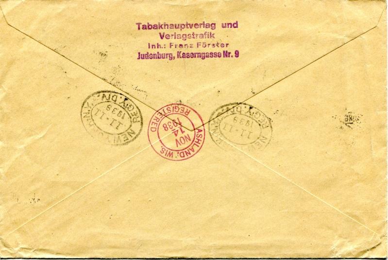 Österreich im III. Reich (Ostmark) Belege - Seite 4 Dr-51811