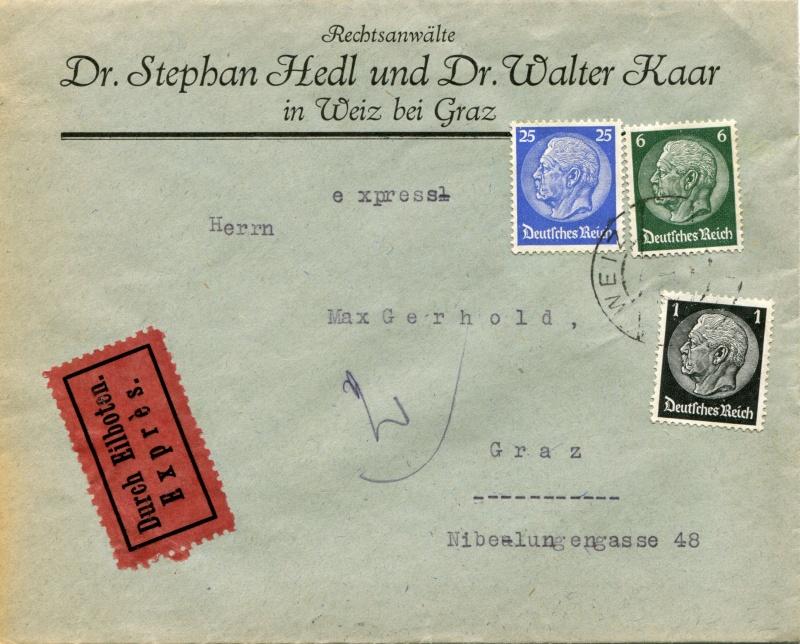 Österreich im III. Reich (Ostmark) Belege - Seite 3 Dr-52210