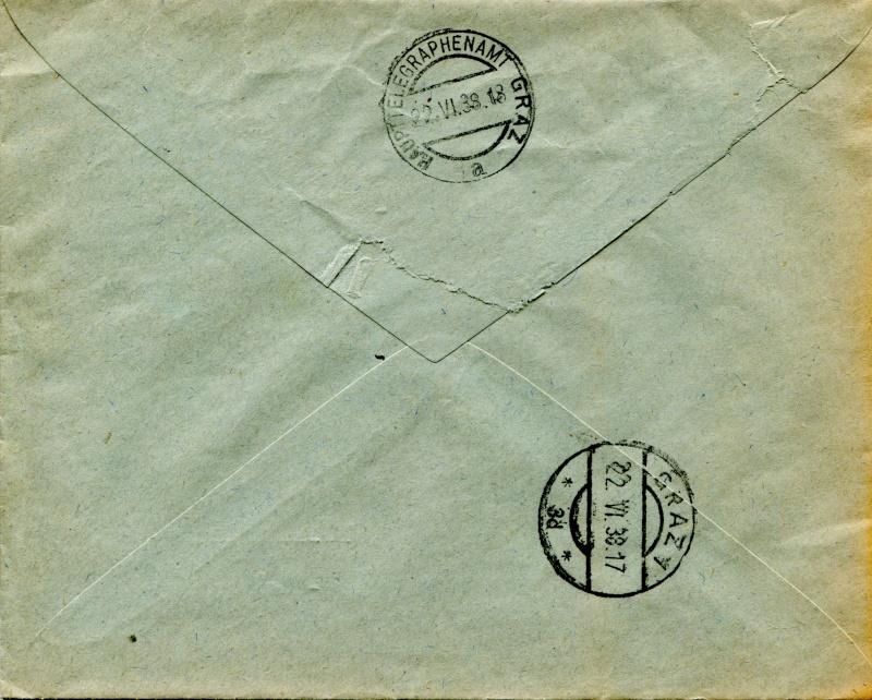 Österreich im III. Reich (Ostmark) Belege - Seite 3 Dr-52211